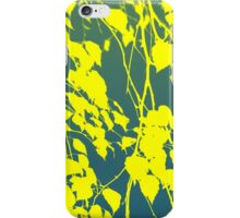 leaves abstract 2 iPhone Case/Skin
