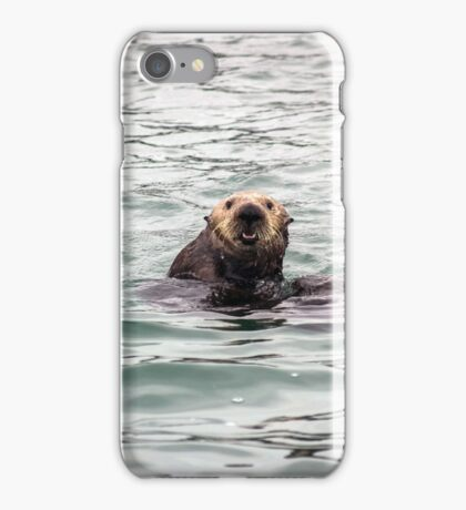 Monterey Bay Sea Otter Photograph iPhone Case/Skin