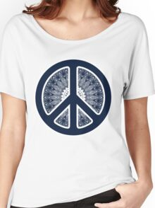 Peace Symbol - 0312 Women's Relaxed Fit T-Shirt