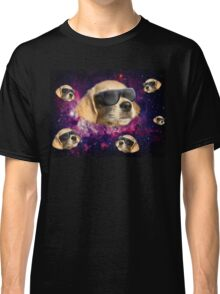 cool space dog Classic T-Shirt