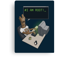 I am Root! Canvas Print