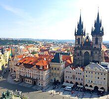 Prague Square by modernhart