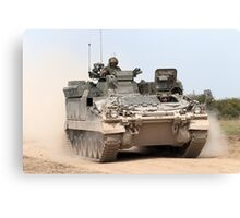 FV512 Warrior Mechanised Repair Vehicle Canvas Print