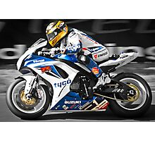 Guy Martin Photographic Print