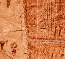 Horseshoe Canyon Great Gallery Figure 7 Pictographs Sticker