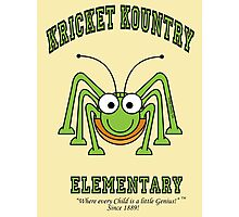 KRICKET KOUNTRY ELEMENTARY...where EVERY child is a little GENIUS! Photographic Print
