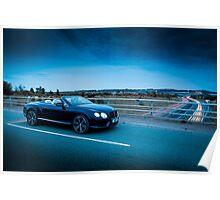 Bentley Conti GTC 2 Poster