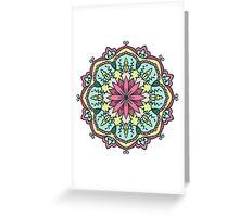 Mandala - Circle Ethnic Ornament Greeting Card