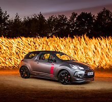 Citroen DS Racing Fire by RossJukesAuto