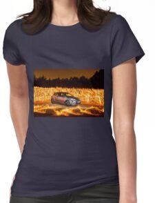 Citroen DS Racing Fire 2 Womens Fitted T-Shirt