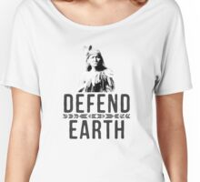 Defend Earth Women's Relaxed Fit T-Shirt