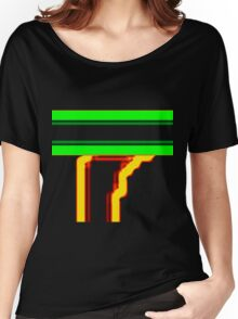 Tube Colors #4.15 No Background Women's Relaxed Fit T-Shirt