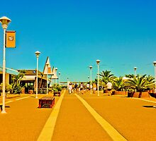 Walk through the Port of Punta del Este by DFLC Prints