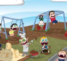 The Playground Sticker