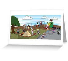 The Playground Greeting Card