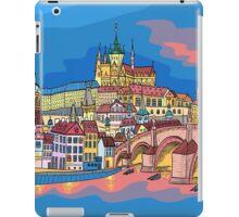 Christmas Prague landscape iPad Case/Skin