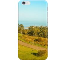 High View of Park and Coast in Montevideo iPhone Case/Skin