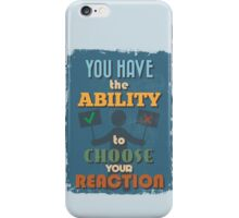 Motivational Quote Poster. Everything is Hard Before it is Easy. iPhone Case/Skin