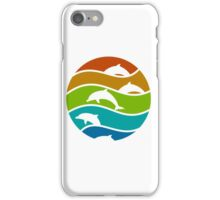 My First Dolphin Design iPhone Case/Skin