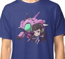 Overwatch- D.Va Cute Spray Classic T-Shirt