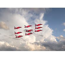 Reds Depart  Photographic Print