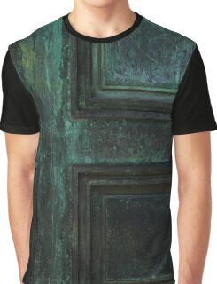 Old Copper Door Graphic T-Shirt