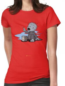80's Horror Babies : Pinhead Womens Fitted T-Shirt