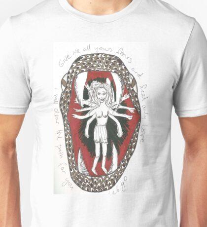 Serpent Girl Unisex T-Shirt