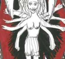 Serpent Girl Sticker