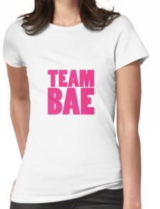 TEAM BAE PINK Womens Fitted T-Shirt