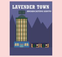 Lavender Town One Piece - Long Sleeve