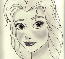"""Beauty and The Beast - Belle """"A beauty but a funny girl"""" by Marionlalala"""