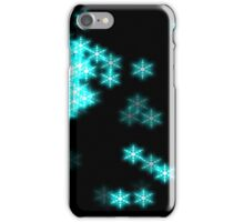 Glowing Snowflakes iPhone Case/Skin