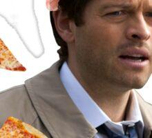 Castiel - the pizzaman and the babysitter Sticker