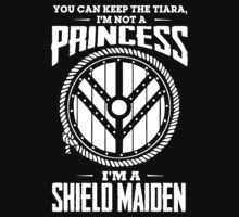 Don't call me a princess - I'm shieldmaiden Kids Tee