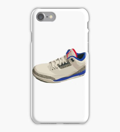 Jordan 3 True Blue iPhone Case/Skin