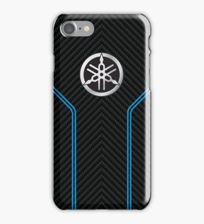 Yamaha case (carbon weave) iPhone Case/Skin