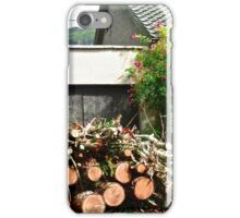 Logs'n Roses, Sligo, Donegal, Ireland iPhone Case/Skin