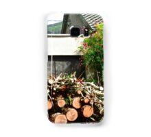 Logs'n Roses, Sligo, Donegal, Ireland Samsung Galaxy Case/Skin