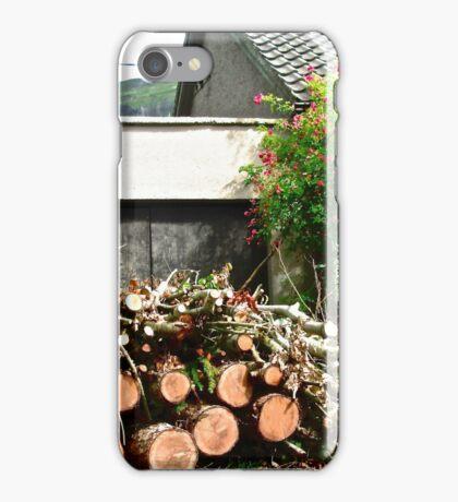 Logs'n Roses, Sligo, Donegal, Ireland iPhone Case/Skin