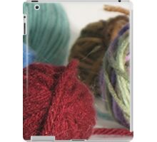 Goodness! Gracious! Great Balls of Yarn! iPad Case/Skin
