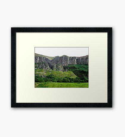 Towering Cliffs, Donegal, Ireland Framed Print