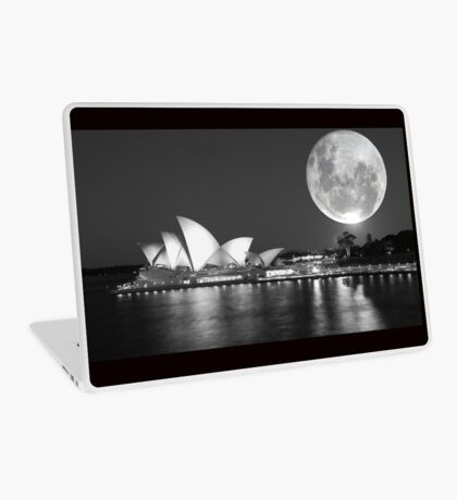 Full moon over Sydney Opera House - Australia Laptop Skin