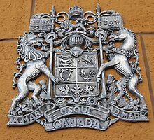 Metal Canada Coat of Arms by stine1
