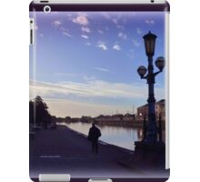 Evening at the Quay iPad Case/Skin