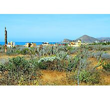 Baja Mexico Southern Pacific Coast  Photographic Print