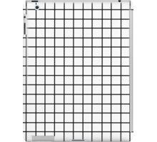 Tumblr Grid Pattern iPad Case/Skin