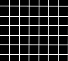Black Tumblr Grid Pattern by holliesapparel