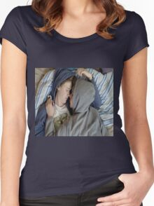 Isak and Even Women's Fitted Scoop T-Shirt