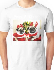 Pug Dog Christmas T-Shirt Unisex T-Shirt